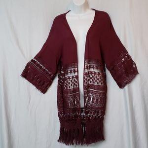 Rue 21 shawl cardigan